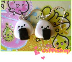 Cute onigiri by coffishop