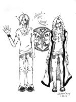 Edward Elric and Candi Rhodes by Liquidemerald5