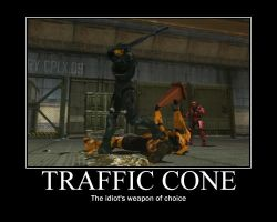 MP: Traffic Cone by Beans-OCG