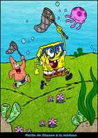 Sponge Bob Colorisation by Darkprincess92