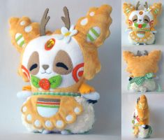 Mimiero's Second Pandeer Plush Commission by Pwyllo