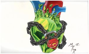 Kryptonite Heart by Digi-Ink-by-Marquis