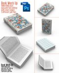 5 Book Mock-Up Templates PSD by xgfxws