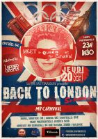 Back to London Flyer by Olgut