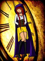 OC ROTG: Hourglass Guardian of Time by kittycatalice