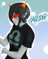 Homestuck- P4RDON? by Nishubi
