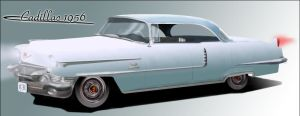 Cadillac 1956 by Snakeyboy