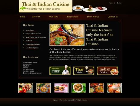 Thai and Indian Cuisine by hood-lord