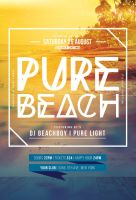 Pure Beach Flyer by styleWish