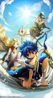 Magi, Aladdin, Titus, Yunan by icecream80810