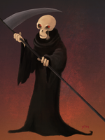 The Grim Reaper by Yetska