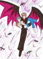 Danny and Mephidoles by The-Clockwork-Crow