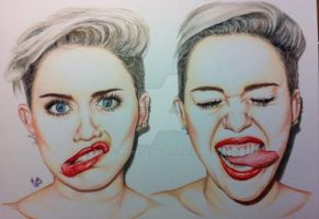 Miley Cyrus by MinaNile