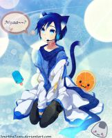 Kaito-nyan~~ by SourthyTears