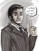 Doctor Tenant Who Esquire by Drunkfu
