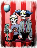 clowns by christopher333