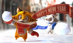 Happy new year. by yamowl