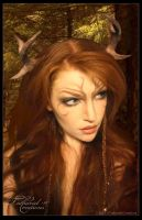 Woodland Faun by TatharielCreations