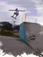 Skateboarding by Reber-Estevao