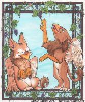Of Griffins and Grapes by Shalie