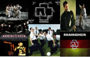 Rammstein Collage by Crypto-137