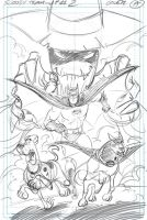 Scooby Doo TU book # 2 cover sketch by DarioBrizuelaArtwork