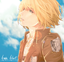 Armin Arlert by SuicideOblivion