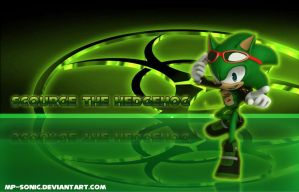 Scourge the Hedgehog wallpaper by MP-SONIC
