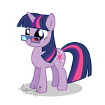Twilight with 3D glasses by HankOfficer