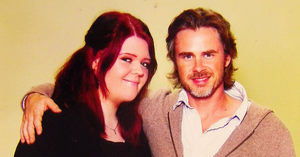 Sam Trammell and me by JessMindless