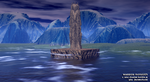 warrior monolith by fraterchaos