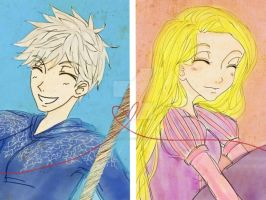 Jack Frost x Rapunzel 6 by civil-twilight