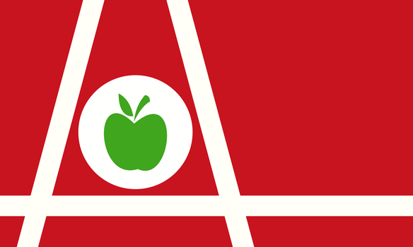 Flag of the Apple Corps by CyberPhoenix001