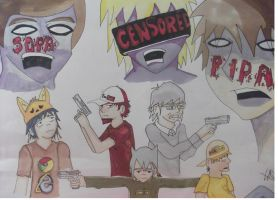 SOPA Zombies Colored by lqrsb