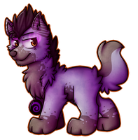 :CO: WolfPlayerViolet 1/2 by giinga