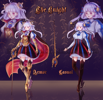 [CLOSED] The Knight - Adoptable by Wiki234