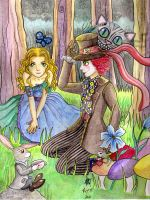 Alice In Wonderland by ArGe