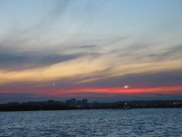 sunset over potomac river no 2 by zimxx