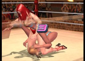 Rumble Roses Dixie vs Yasha (11) by tousato