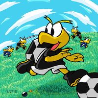 Soccer Time by G-Bomber