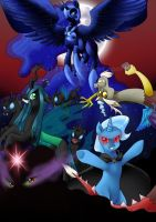 MLP Villains by quila111