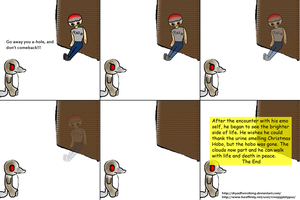 Cp:Christmas Hobo Part 4 End by dryadforestking