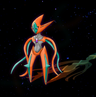 Deoxys by TsukineSara