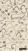 Hand Drawn 'Arrow' PS Brushes by ormanclark