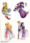 A Link Between Worlds stickers by ZulayaWolf