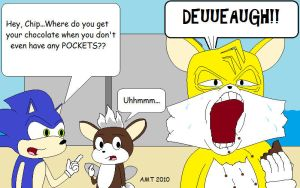 Tails' Ugly Surprise by AngusMcTavish
