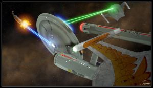 Romulans Ain't So Tough by celticarchie