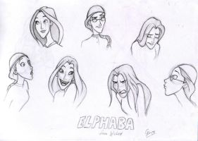 Some of my doodles_wicked elphaba by dashingrainbow2012