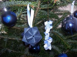 Christmas origami 2 by EmilieCharlotte