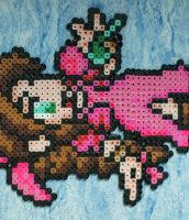 Aeris Bead Sprite by Nicolel12
